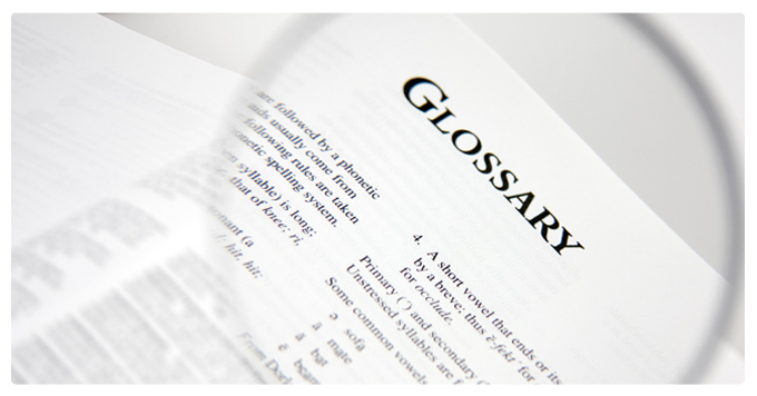 Helpful Glossary of scientific terms for the Biocell Collagen website